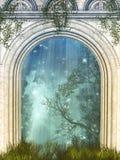Magiczny drzwi ilustracji