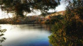 Magiczny jezioro Obrazy Royalty Free