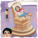 Magiczny krzesło Zdjęcia Stock