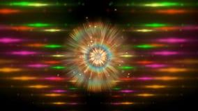 magiczny laserowy przedstawienie ilustracji