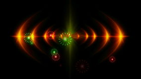 magiczny laserowy przedstawienie zbiory wideo