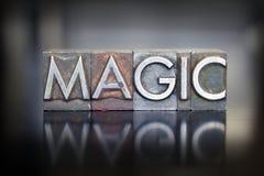 Magiczny Letterpress Zdjęcie Royalty Free