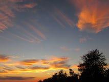 magiczny niebo Zdjęcie Stock