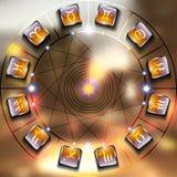 Magiczny okrąg Zdjęcia Stock