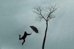 Magiczny parasol 1 Zdjęcie Stock
