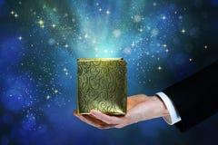 Magiczny pudełko Obraz Stock