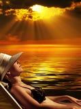 magiczny słońca Obrazy Stock