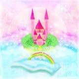 Magiczny świat bajki Obrazy Royalty Free