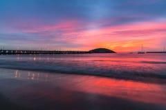 Magiczny wschód słońca Obraz Stock