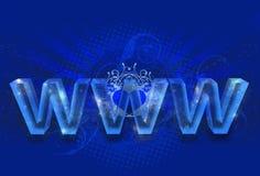 Magiczny WWW Zdjęcia Stock