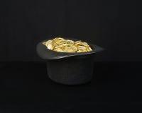 Magiczny złoto zdjęcie royalty free