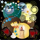 Magie illustration libre de droits