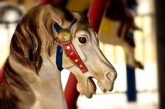 Magie de carrousel Photo stock