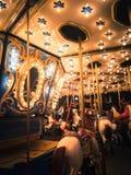 Magie de carrousel Photo stock