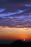 Magie de coucher du soleil Photos stock