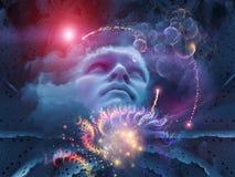 Magie de l'esprit Images libres de droits