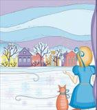 Magie de l'hiver Illustration Stock