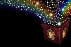 Magie de Noël de cartes Image stock