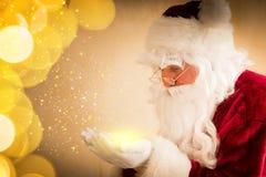 Magie de Santa Claus Images stock