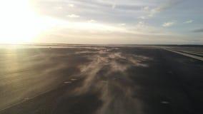 Magie des Sandes und des Winds lizenzfreie stockfotografie