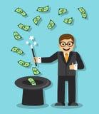 Magie im Geschäft Stockfotos