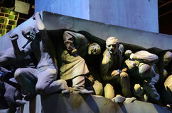 'Magie ist Macht' Statue, Warner Bros-Studio Lizenzfreies Stockbild