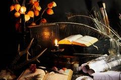 Magie noire Photographie stock libre de droits