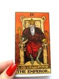 Magie occulte de divination de cartes de tarot images stock