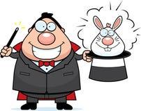 Magier-Kaninchen Lizenzfreies Stockfoto
