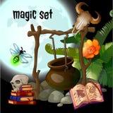 Magiesatz des Zauberers vektor abbildung
