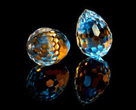 Magieschnittkristalle Stockfoto