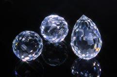 Magieschnittkristalle Stockfotografie