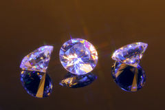 Magieschnittkristalle Lizenzfreies Stockfoto