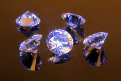 Magieschnittkristalle 5 Lizenzfreie Stockfotos