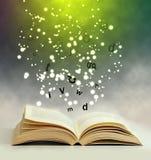 Magii książka Zdjęcia Stock