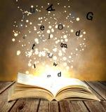 Magii książka Obrazy Stock