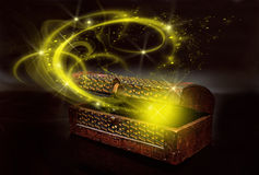 magii pudełko Zdjęcia Stock