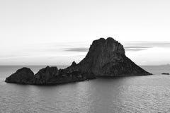 Magii skała Ibiza Obrazy Royalty Free