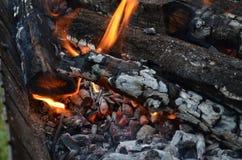 Magik del fuoco fotografia stock libera da diritti