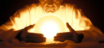 Magik i astrologia Zdjęcie Royalty Free