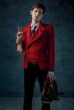 Magik z przecinającą ręką Fotografia Stock