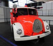 Magirus Deutz从1960年的消防车 免版税库存照片