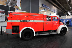 Magirus Deutz brandlastbil från 1960 Royaltyfri Fotografi
