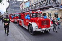 Magirus Deutz Fire Vehicle Stock Images