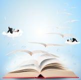Magisch boek Stock Afbeeldingen