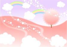 Magisch droomland Stock Afbeelding