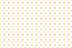 Magisch geometrisch patroon stock illustratie