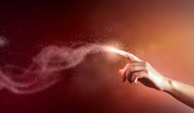 Magisch handen conceptueel beeld Royalty-vrije Stock Fotografie