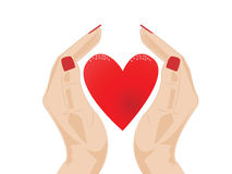 Magisch hart Stock Afbeelding