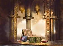 Magisch India in nacht Royalty-vrije Stock Afbeelding